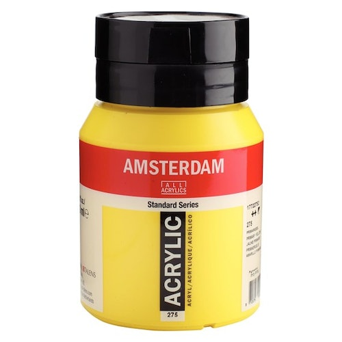 Primary yellow 275 - Amsterdam Akrylfärg 500 ml