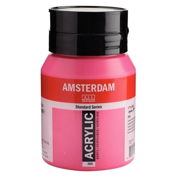 Quinacridone rose 366 - Amsterdam Akrylfärg 500 ml