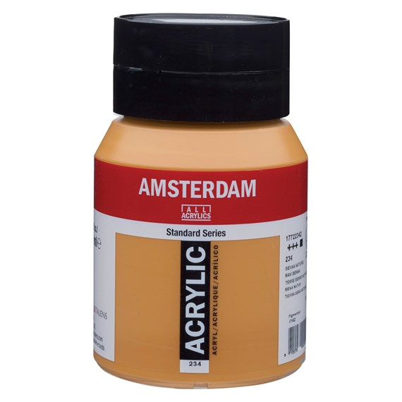 Raw sienna 234 - Amsterdam Akrylfärg 500 ml