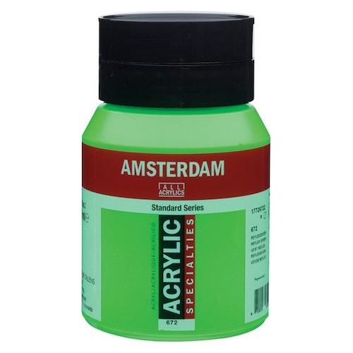 Reflex green 672 - Amsterdam Akrylfärg 500 ml