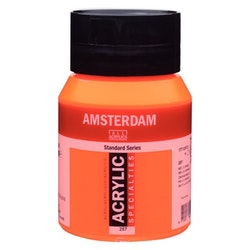 Reflex orange 257 - Amsterdam Akrylfärg 500 ml