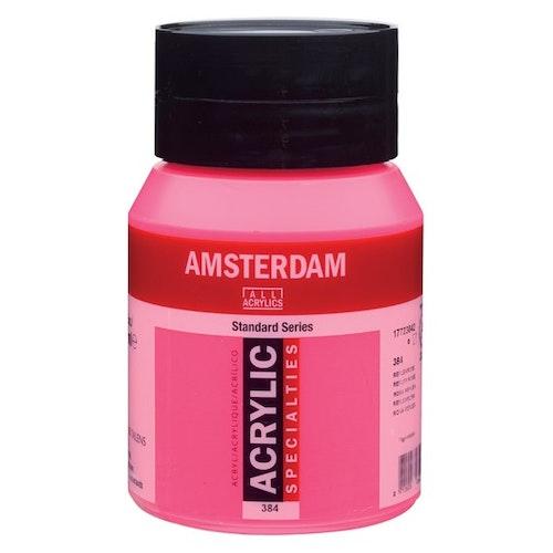 Reflex rose 384 - Amsterdam Akrylfärg 500 ml