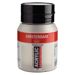 Silver 800 - Amsterdam Akrylfärg 500 ml