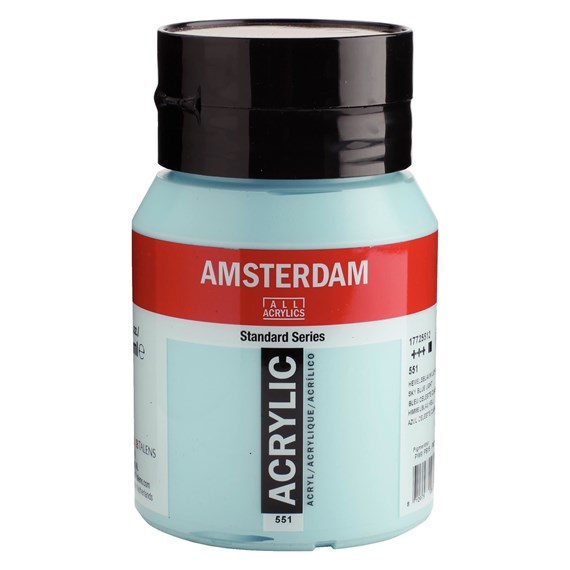 Sky blue light 551 - Amsterdam Akrylfärg 500 ml