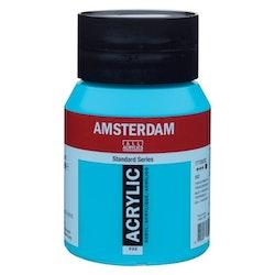 Turquoise blue 522 - Amsterdam Akrylfärg 500 ml