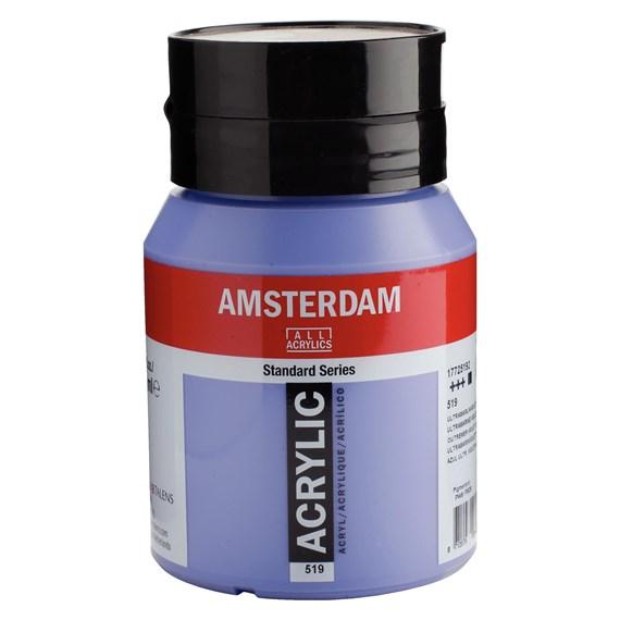 Ultramarine violet light 519 - Amsterdam Akrylfärg 500 ml