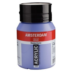 Ultramarine violet light 519 - Amsterdam Akrylfärg 500 ml