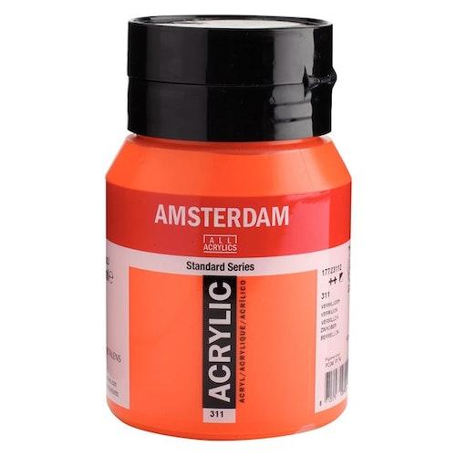 Vermilion 311 - Amsterdam Akrylfärg 500 ml