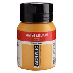 Yellow ochre 227 - Amsterdam Akrylfärg 500 ml