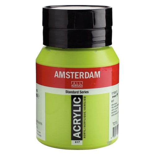 Yellowish green 617 - Amsterdam Akrylfärg 500 ml
