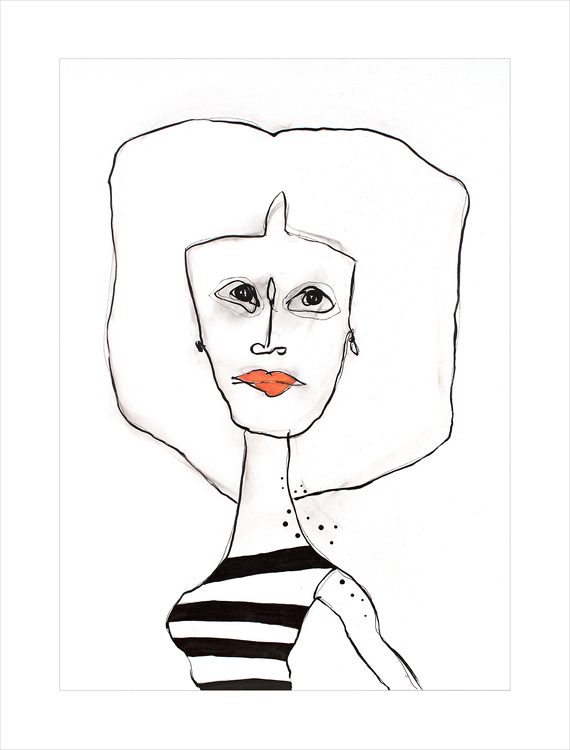 Less is beautiful - Gicclé, fine art