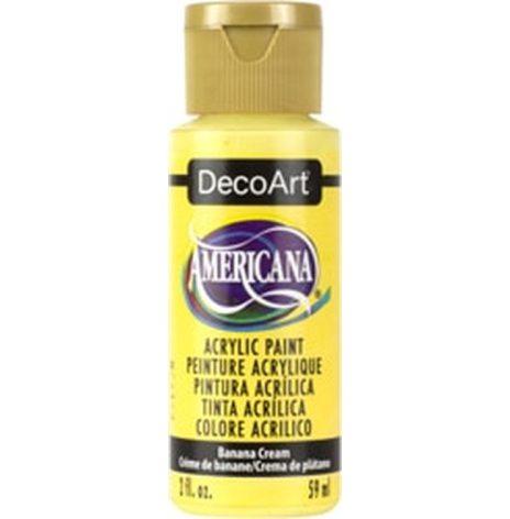 Bananan Cream - Americana hobbyfärg (akryl)