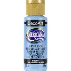 Baby Blue - Americana hobbyfärg (akryl)