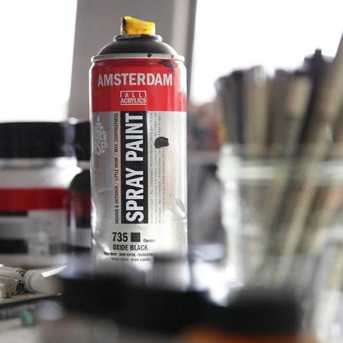 Sprayfärg vit akryl