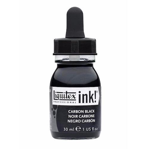 Acrylic ink Black
