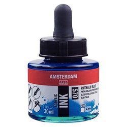 Phthalo Blue Acrylic Ink 570