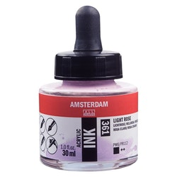 Light Rose Acrylic Ink 361