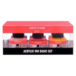 Primärfärger set Acrylic Ink