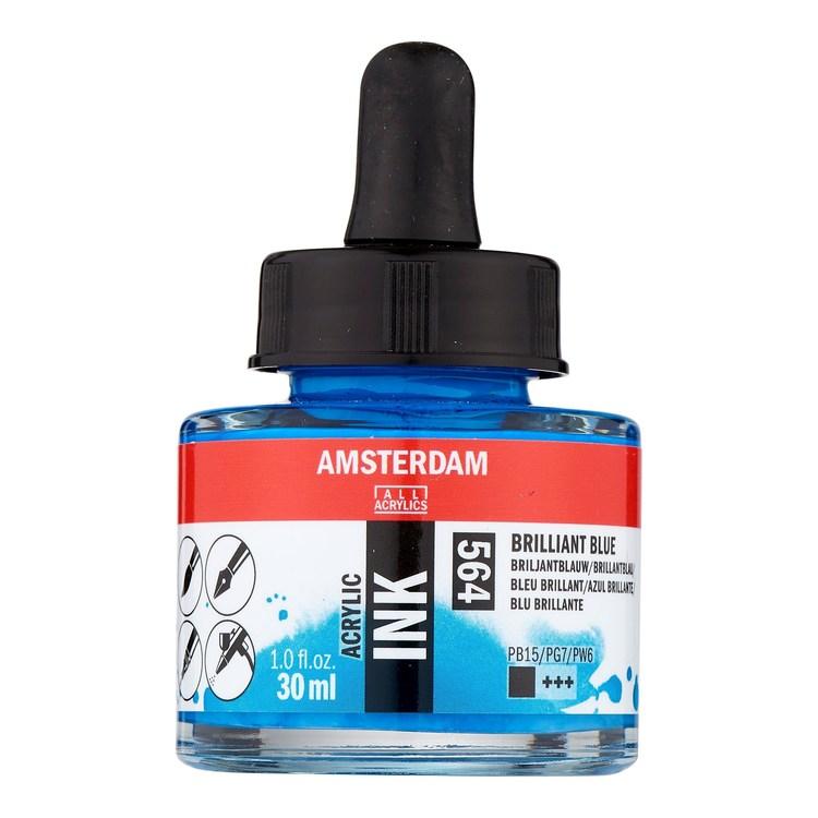 Brilliant Blue Acrylic Ink 564