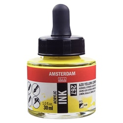 Yellow Lemon Acrylic Ink 267