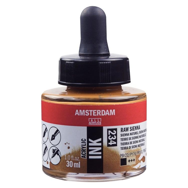 Raw Sienna Acrylic Ink 234