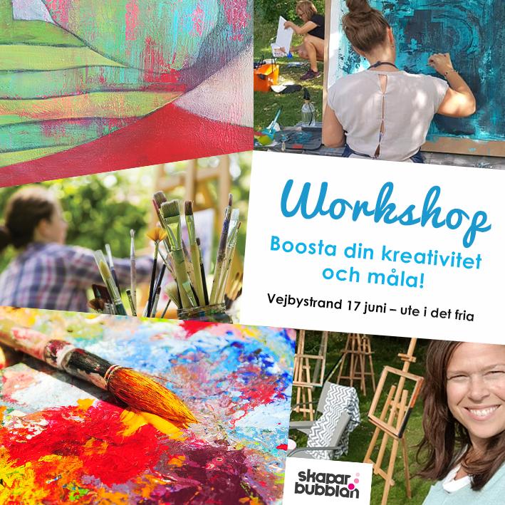 Boosta din kreativitet och måla