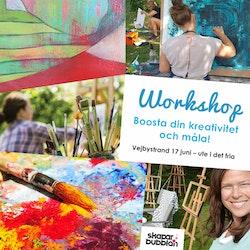 Boosta din kreativitet och måla - Torsdag 17 juni