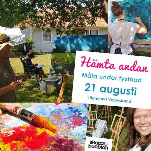 Hämta Andan och måla - 21 augusti Lördag