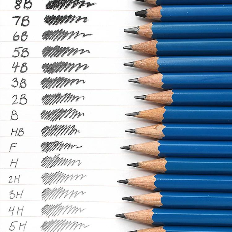 Blyertspenna 6B (mjuk)