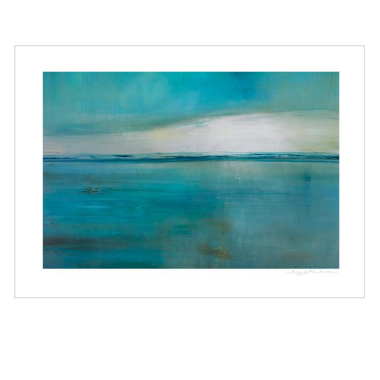 Evening Glory Vejbystrand - Gicclé, fine art