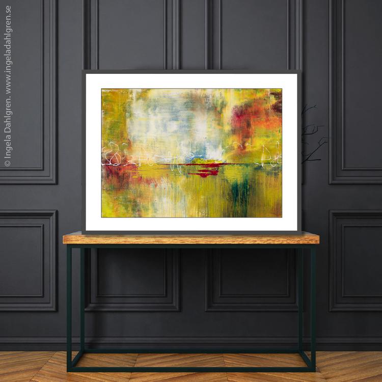 The Mirror Pond - Gicclé, fine art