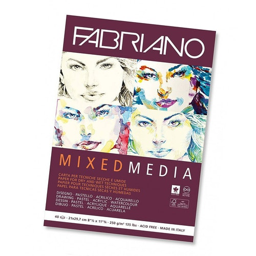 Fabriano Block Mixed Media