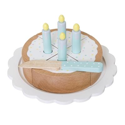 Leksakstårta med fyra ljus i trä från Bloomingville mini