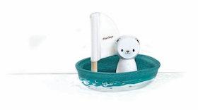 Plantoys - Ekologisk badleksak, isbjörn