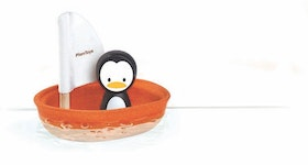 PLANTOYS - SAILING BOAT -PENGUIN