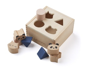 Liewood - WOOD BOX PUZZLE