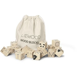 LIEWOOD - WOOD BLOCKS / NATURAL