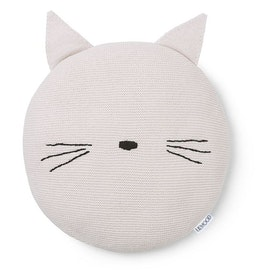 LIEWOOD - KAJ KNIT PILLOW / CAT / SWEET ROSE