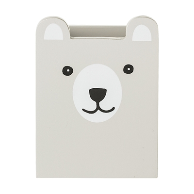 Pennhållare björn trä Bloomingville Mini