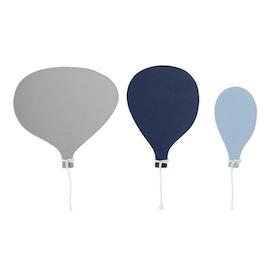 Bloomingville - Krokar Ballonger Blå 3-pack