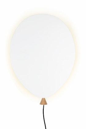 Globen Lighting - Ballonglampa Vägglampa vit