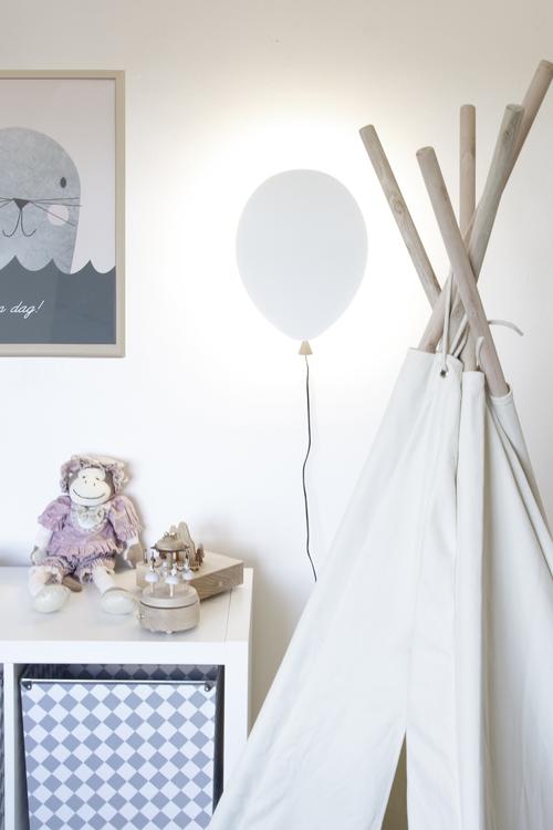GLOBEN LIGHTING - BALLOON WALL LAMP WHITE