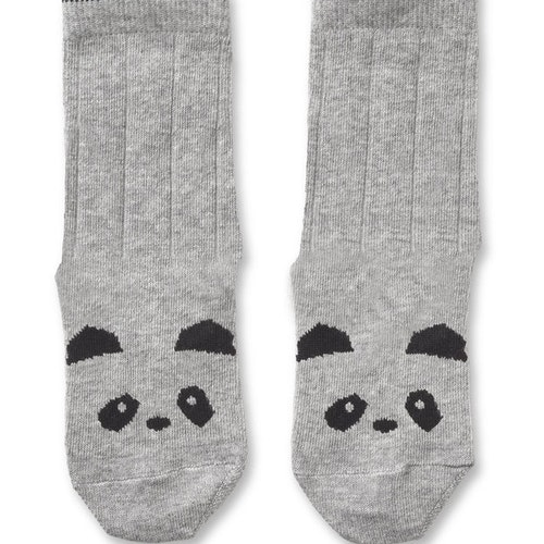 Liewood - Strumpor Panda Grå