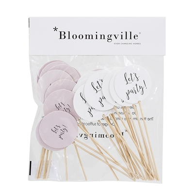 Bloomingville - Tårtdekoration 24-pack