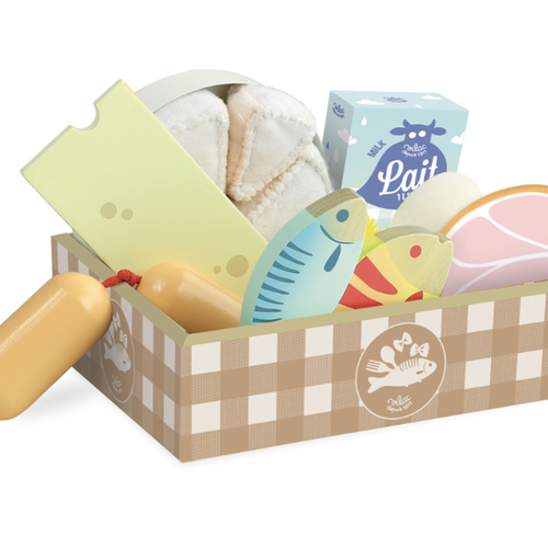 Vilac - Chark & mejeri i låda