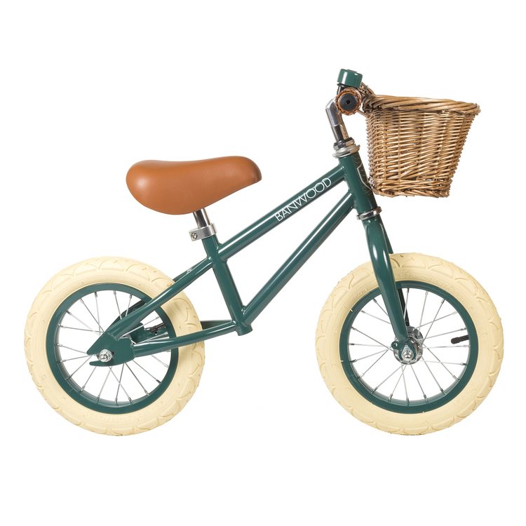 Balanscykel grön banwood
