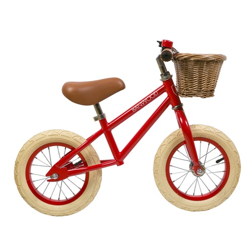 "Banwood - Balanscykel 12"" Röd"