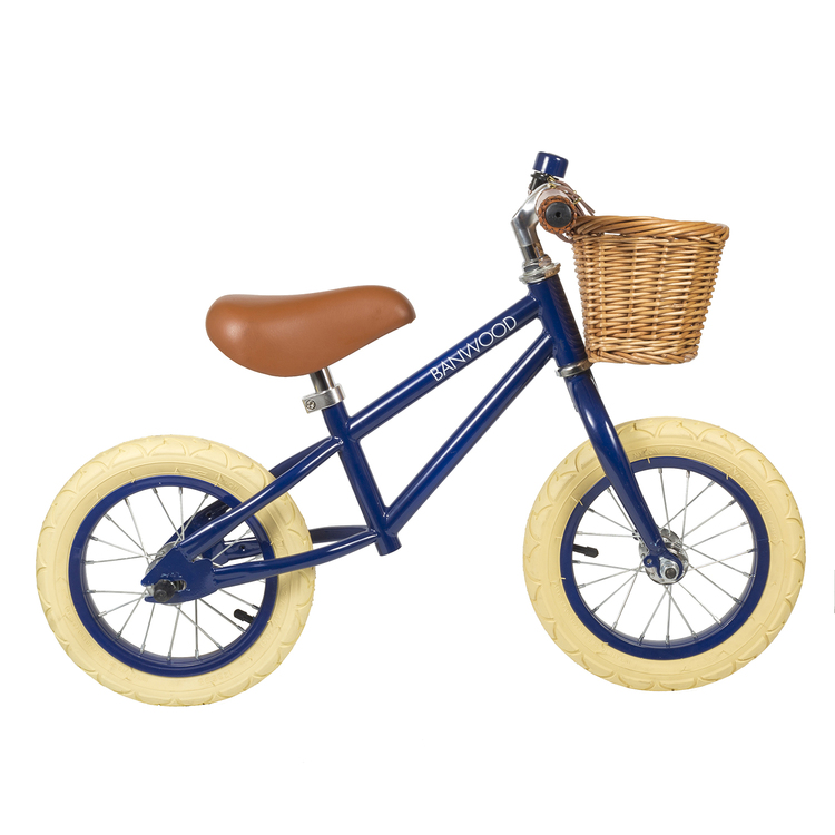 "Balanscykel blå banwood 12"""