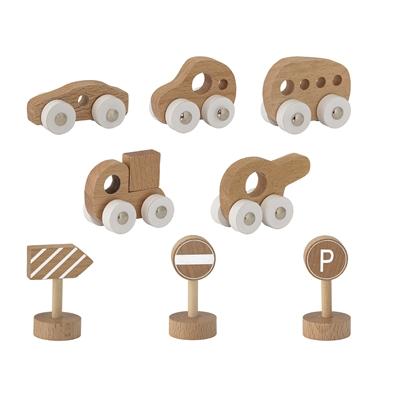 Leksaksbilar i trä från Bloomingville Mini