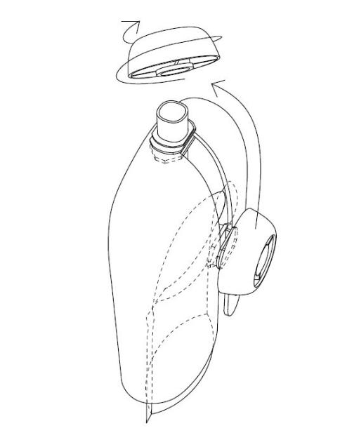 Hållis - Hållare till klämmisar Mint